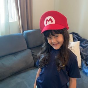 Mario Bros Adult and matching Kid hat ♥️